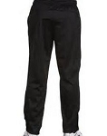 Black Warm Up Pant Straight w/ Pockets