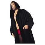 Velour Hooded TerryCloth Robe