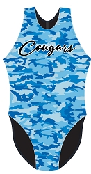 Beaumont HS Girls Polo Suit