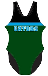 Green Tree Gators Women's Swim Suit