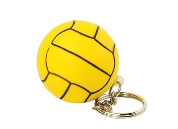 Water Polo Stress Ball Keychain